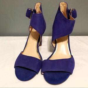 Jessica Simpson Symphony Blue Heels